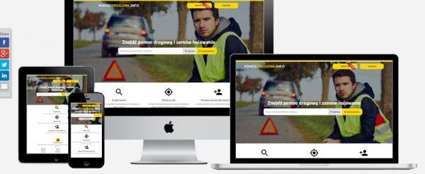 pomoc drogowa + portal