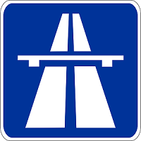 znak autostrada