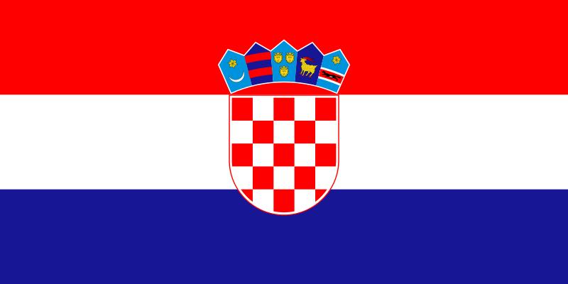 flaga Chorwacji
