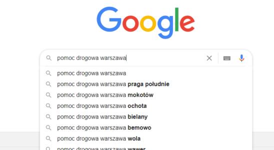 Warszawa - pomoc drogowa